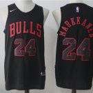 Men's Chicago Bulls #24 Lauri Markkanen Basketball Jersey Black
