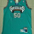 Men's Vancouver Grizzlies #50 Zach Randolph Basketball Jersey Green