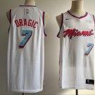 Men's Miami Heat #7 Goran Dragic Basketball Jersey White