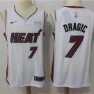 Men's Miami Heat #7 Goran Dragic Jersey White - FREE SHIPPING