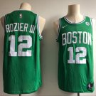 Men's Boston Celtics #12 Terry Rozier Basketball Jersey Green