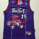 Men's Toronto Raptors #15 Vince Carter Purple Jersey Throwback