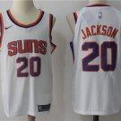 Men's Phoenix Suns #20 Josh Jackson Basketball Jersey White
