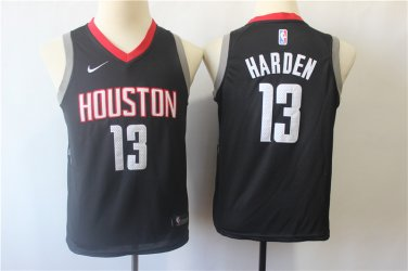 info for dca8b 7e002 Youth Houston rockets #13 James Harden Basketball Jersey Black