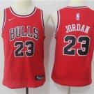 Youth Chicago Bulls #23 Michael Jordan Red Basketball Jersey