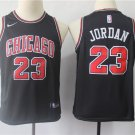 Youth Chicago Bulls #23 Michael Jordan Black Basketball Jersey