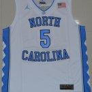 Men's North Carolina Tar Heels Marcus Paige #5 College Jersey White
