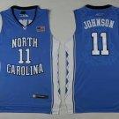 Men's North Carolina Tar Heels #11 Brice Johnson College Jersey Blue