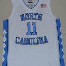 Men's North Carolina Tar Heels #11 Brice Johnson College Jersey White