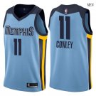 Men's Memphis Grizzlies #11 Mike Conley Basketball Jersey Blue