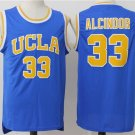 Men's UCLA Lew Alcindor #33 New Arrive Basketball Jersey Blue cheaped