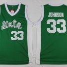 Men's Michigan State #33 Earvin Johnson Green College Basketball Jersey