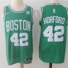 Men's Boston Celtics 42 Al Horford Basketball Stitched Jersey Green