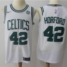 Men's Boston Celtics 42 Al Horford Basketball Stitched Jersey White