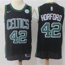 Men's Boston Celtics 42 Al Horford Basketball Stitched Jersey Black