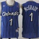 Men's Orlando Magic #1 Tracy McGrday Basketball Jersey Blue Stripe