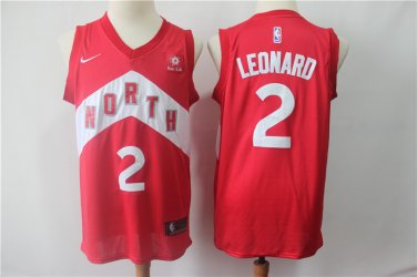 quality design ceeb1 21954 Men's Toronto Raptors #2 Kawhi Leonard Jersey Red Earned ...
