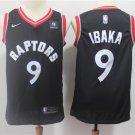 Mens Toronto Raptors #9 Serge Ibaka Basketball Jersey Black 2019