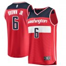 Mens Washington Wizards #6 Troy Brown Jersey Red – Icon Edition