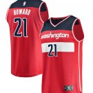 Mens Washington Wizards #21  Dwight Howard Jersey Red - Icon Edition