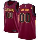 Cleveland Cavaliers Nike Swingman Custom Jersey Maroon - Icon Edition