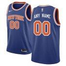 New York Knicks Nike Swingman Custom Jersey Blue - Icon Edition