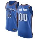 Oklahoma City Thunder Nike Authentic Custom Jersey Blue - Icon Edition