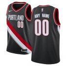 Portland Trail Blazers Nike Swingman Custom Jersey Black - Icon Edition