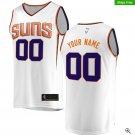 Phoenix Suns Fanatics Branded Fast Break Custom Replica Jersey White - Association Edition