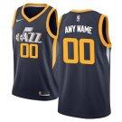 Utah Jazz Nike Swingman Custom Jersey Navy - Icon Edition
