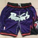 Mens Toronto Raptors Nike Icon Basketball Purple Shorts – Pocket version