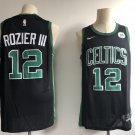Men's Boston Celtics #12 Terry Rozier Basketball Jersey Black