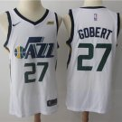 2018 Men's Utah Jazz #27 Rudy Gobert Basketball Jersey White