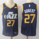 Men's Utah Jazz #27 Rudy Gobert Basketball Jersey Navy Blue