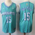 Charlotte Hornets #15 Kemba Walker Jersey Blue Stripe City Edition 2019