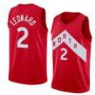 Men's Toronto Raptors 2# Kawhi Leonard Basketball Jersey Red Earned Edition