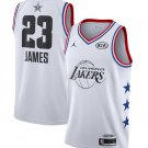 Men's LeBron James Los Angeles Lakers 2019 All-Star Game Jersey – White