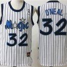 Men's Orlando Magic #32 Shaquille O'Neal Jersey White Throwback