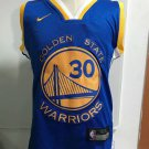 Infant Or Todler Warriors #30 Stephen Curry Basketball Jersey Blue