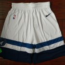 Men's Minnesota Timberwolves Basketball Shorts White Statement Edition