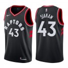 Men's Raptors Pascal Siakam Basketball Jersey Black 2019