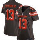Women's Cleveland Browns 13# Odell Beckham Jr Game Jersey Brown