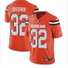 Youth Cleveland Browns 32 Jim Brown Limited Game Jersey Orange