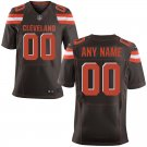 Men's Cleveland Browns Nike Custom Elite Football Jersey Brown