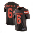 Men's Cleveland Browns 6# Baker Mayfield Limited Jersey Brown Football