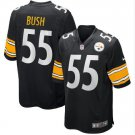 Youth Pittsburgh Steelers #55 Devin Bush Game Football Jersey Black