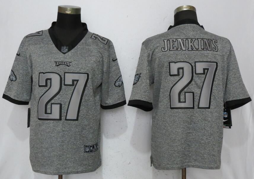 Men's Philadelphia Eagles #86 Zach Ertz Game Football Jersey Gray