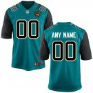 Men's Jacksonville Jaguars custom made Game Football Player Jersey Teal