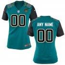 Women's Jacksonville Jaguars custom made Game Player Jersey Teal