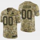 Men's San Francisco 49ers #00 Custom 2018 Salute To Service Camo Jersey